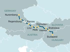 Danube-map